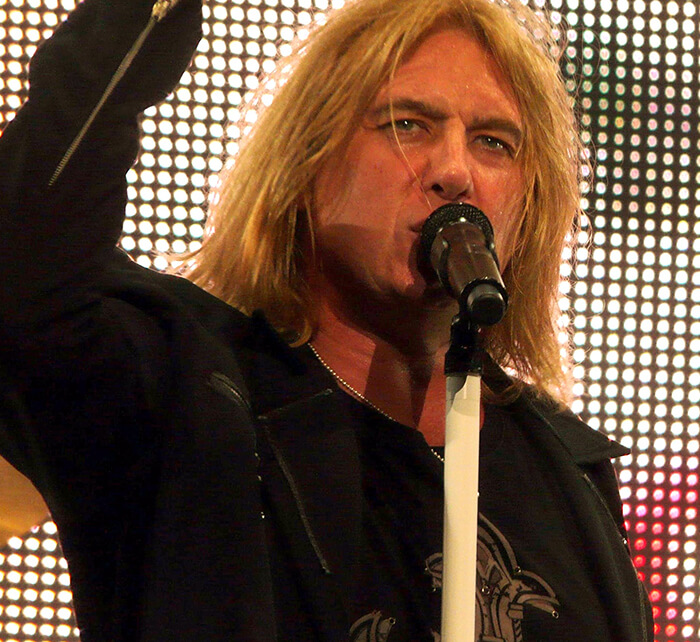 Portrait of Joe Elliott / Kings of Chaos