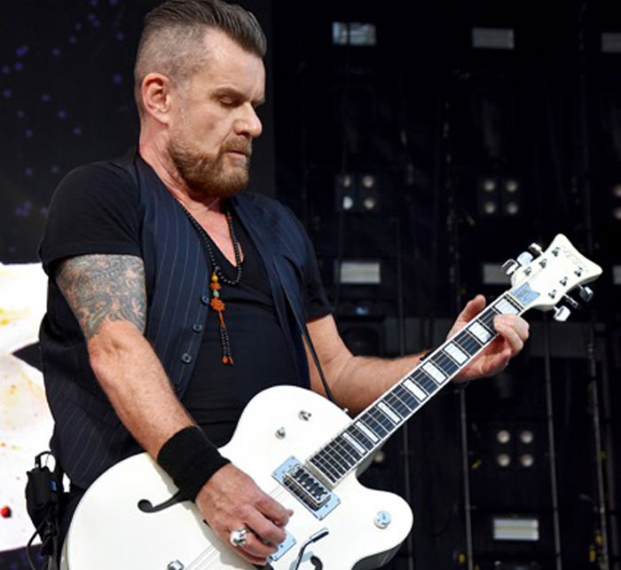 Portrait of Billy Duffy / Kings of Chaos