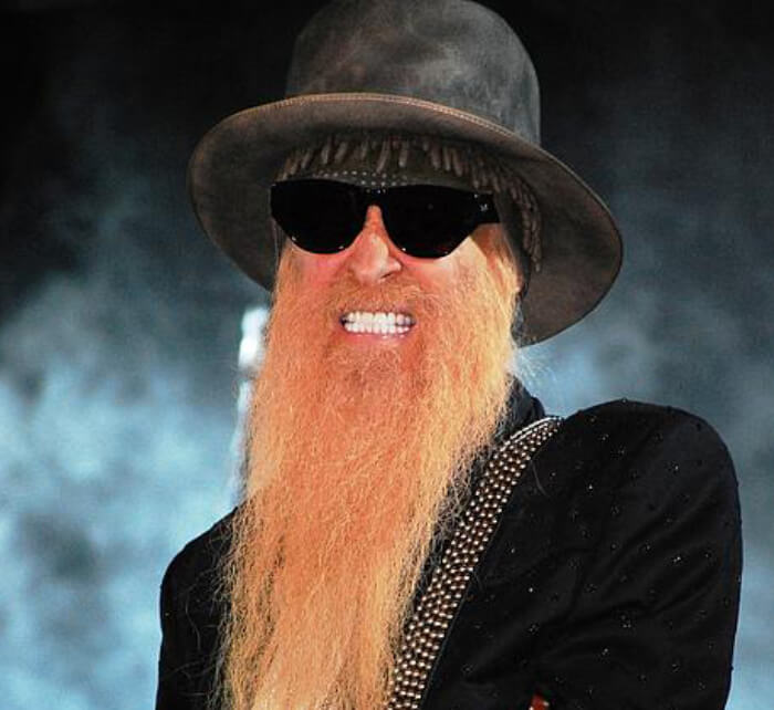 Portrait of Billy Gibbons / Kings of Chaos