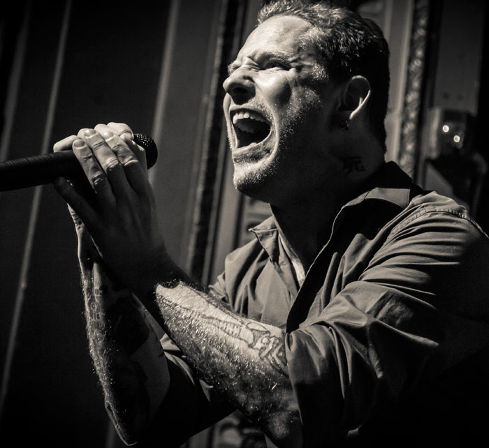 Portrait of Corey Taylor / Kings of Chaos