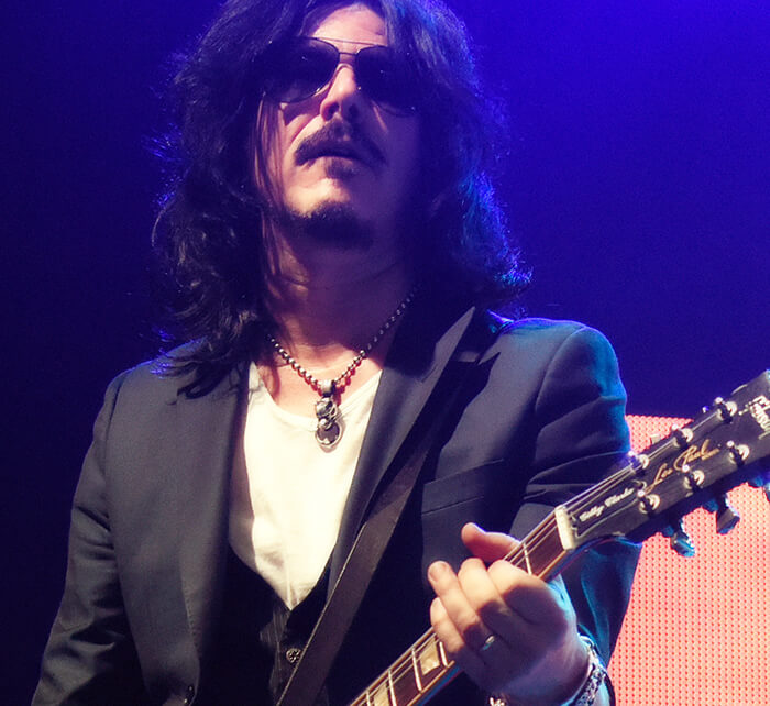 Portrait of Gilby Clarke / Kings of Chaos
