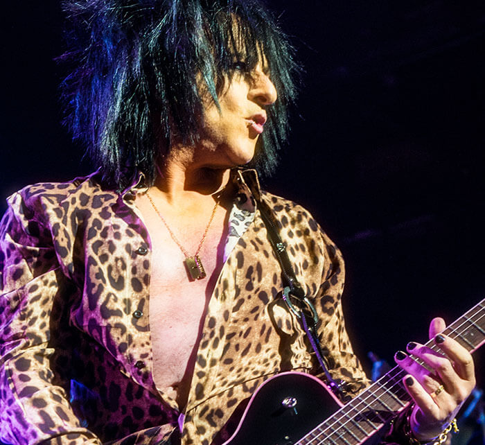 Portrait of Steve Stevens / Kings of Chaos
