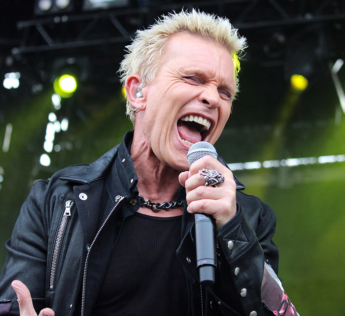 Portrait of Billy Idol / Kings of Chaos
