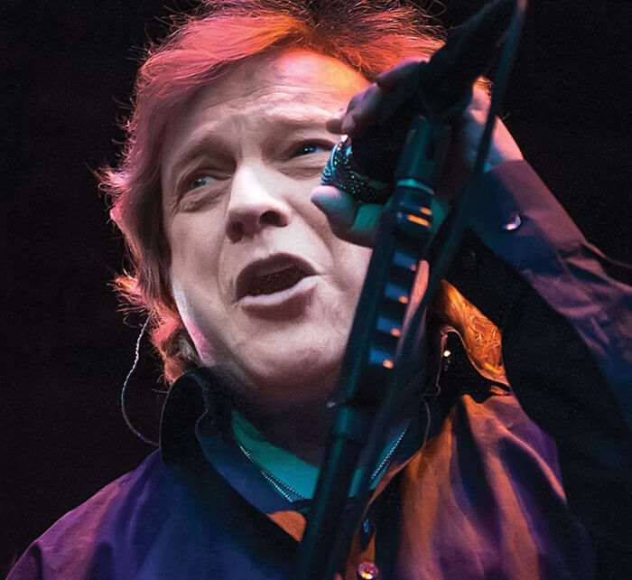 Portrait of Lou Gramm / Kings of Chaos